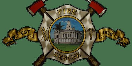 Coral Gables Fire Recruit Graduation tickets