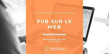 Pub sur le Web par Karina Chabot | Créakom billets