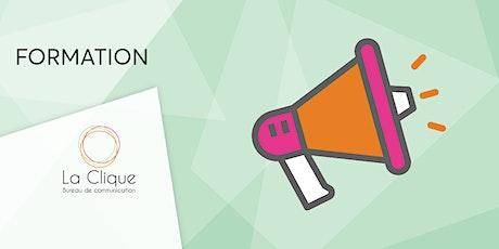 Bâtir une campagne de relations publiques efficace billets