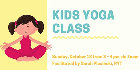 Kids Yoga: Yoga Breaks for Virtual Learning tickets