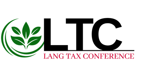 Lang Tax Conference tickets