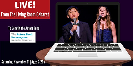 LIVE! From The Living Room Cabaret - Registration and Rehearsal tickets