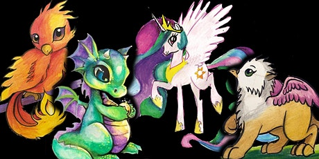 Magical Mythical Creatures 4-WEEK Halloween Painting Series (Ages 6 +) tickets