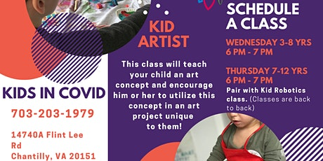 Kid Artist  Classes tickets