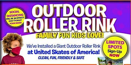 Outdoor Roller Skating at United Skates Saturday 10/3/20 6:30pm-8:00pm tickets