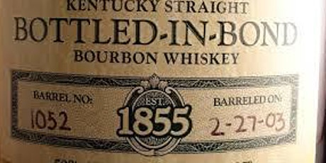 Bottled in Bond Whiskey Tasting tickets
