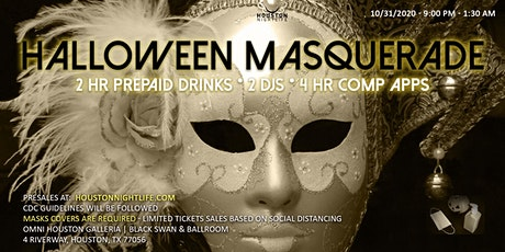 Haunted Omni Houston Hotel - Exclusive Halloween Masquerade Costume Ball tickets