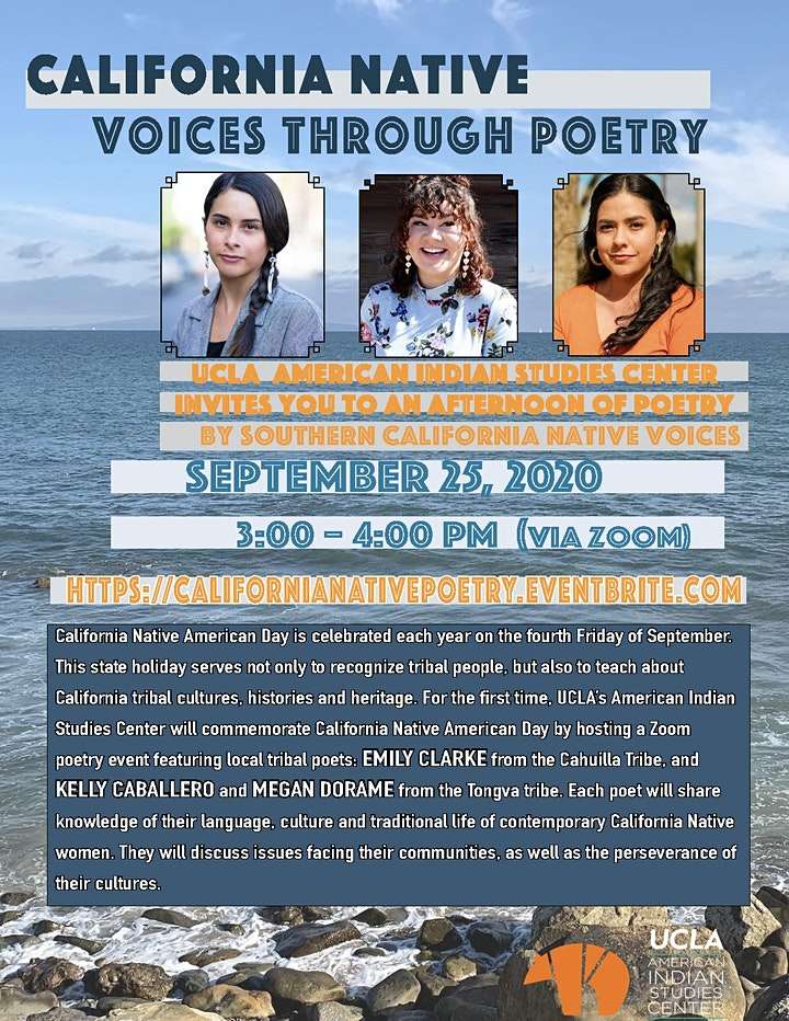 California Native Voices Through Poetry image