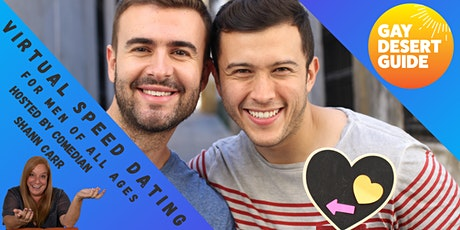 Gay Virtual Speed Dating for Men of ALL Ages tickets