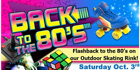 80's  Outdoor Roller Skating at United Skates Saturday 10/3  8:30pm-10:00pm tickets