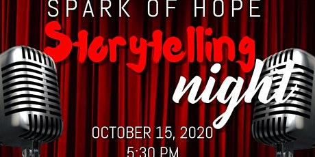 Spark of Hope Storytelling Night: Stories From Behind the Mask tickets