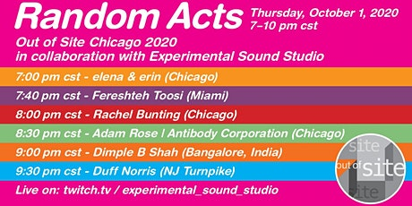 Random Acts - Out of Site 2020 tickets