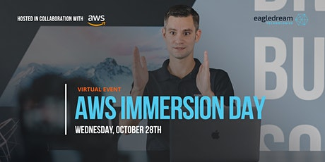 Virtual AWS Immersion Day: Cloud Security, Governance & Compliance Bootcamp tickets