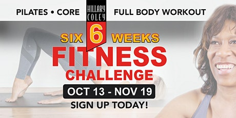 Hillary Coley 6Weeks Fitness Challenge tickets