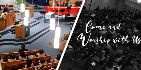 Sunday Worship Services (In-person) tickets