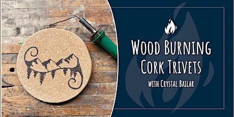 Wood Burning: Create an Artisan Cork Trivet