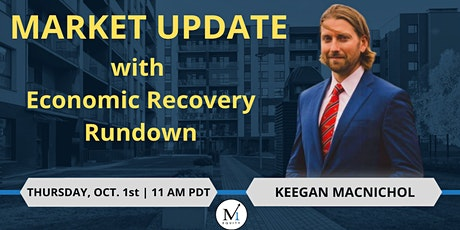 MARKET UPDATE with Economic Recovery Rundown tickets