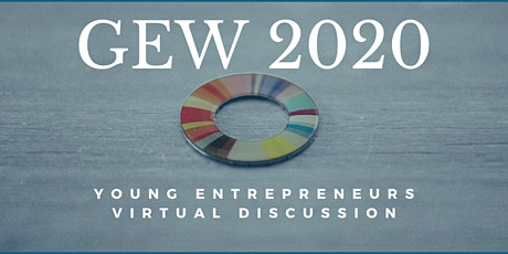 Global Entrepreneurship Week- Young Entrepreneur Discussion tickets
