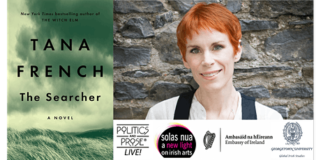 P&P Live! Tana French | THE SEARCHER in conversation with Marlon James tickets