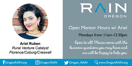 Open Mentor Hours w/Ariel tickets