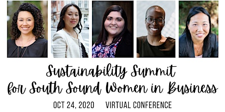 Sustainability Summit for South Sound Women in Business 2020 tickets