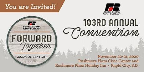 South Dakota Farm Bureau 103rd Annual Convention tickets