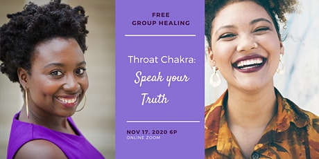 Free Group Energy Healing Throat Chakra: Speak your Truth tickets