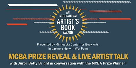 MCBA Prize Reveal & Live Artist Talk tickets