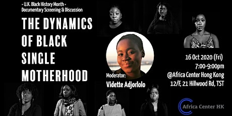 The Dynamics of Black Single Motherhood tickets