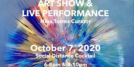 ART SHOW & LIVE PERFORMANCE tickets