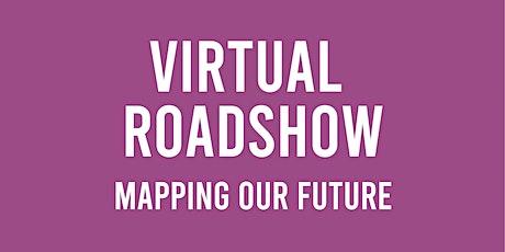 Virtual Roadshow -  Mapping Our Future biglietti