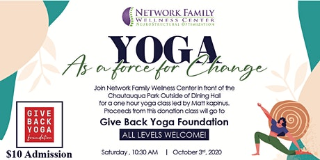 Yoga as a Force for Change tickets