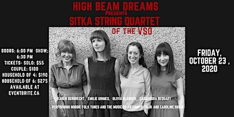 Sitka String Quartet - VSO Musicians tickets
