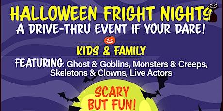 Halloween Fright Nights A Drive Thru Event - Thursday Oct 15th tickets