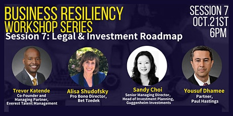 Business Resiliency: Legal & Investment Roadmap tickets