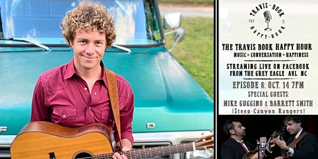 Travis Book Happy Hour ft Mike G. & Barrett S. of Steep Canyon Rangers tickets