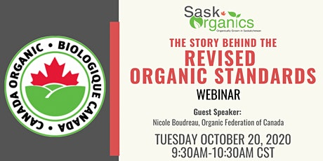 The Story Behind the Revised Organic Standards Webinar tickets