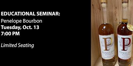 Educational Seminar: Penelope Bourbon tickets