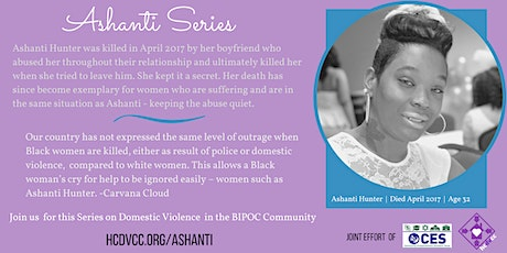 Ashanti Series - How Domestic Violence Effects Children tickets