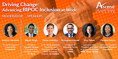 Driving Change: Advancing BIPOC Inclusion at Work tickets