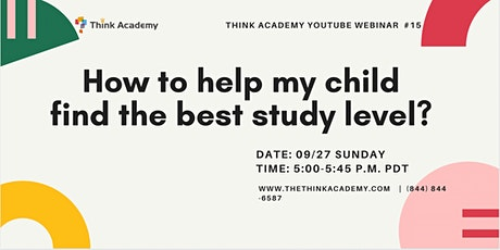 How to Help Your  Child Find Their Best Study Level? tickets