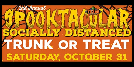 Texas Roadhouse Spooktacular Socially Distanced Trunk or Treat tickets