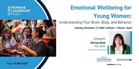 Emotional Wellbeing for Young Women: Understanding Your Brain & Body tickets