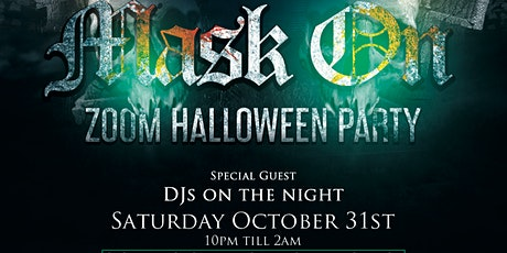 MASK ON - HALLOWEEN PARTY tickets