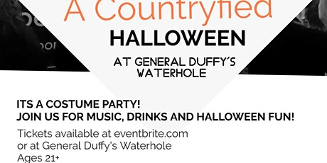 Countryfied Halloween Costume Party tickets