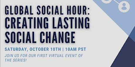 Online Global Social Hour tickets