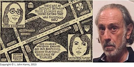L. John Harris on the Gourmet Ghetto tickets