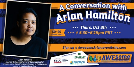 A conversation with Arlan Hamilton tickets