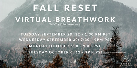 Fall Reset - Virtual Breathwork tickets