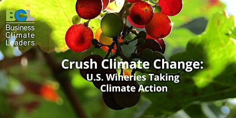 Wine Industry Climate Action Webinar tickets